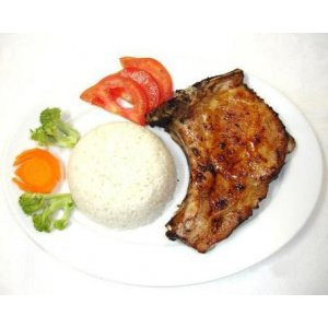Fragrant Charbroiled Pork Chop