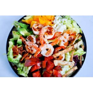 Bistro Salad with Shrimp and Squid